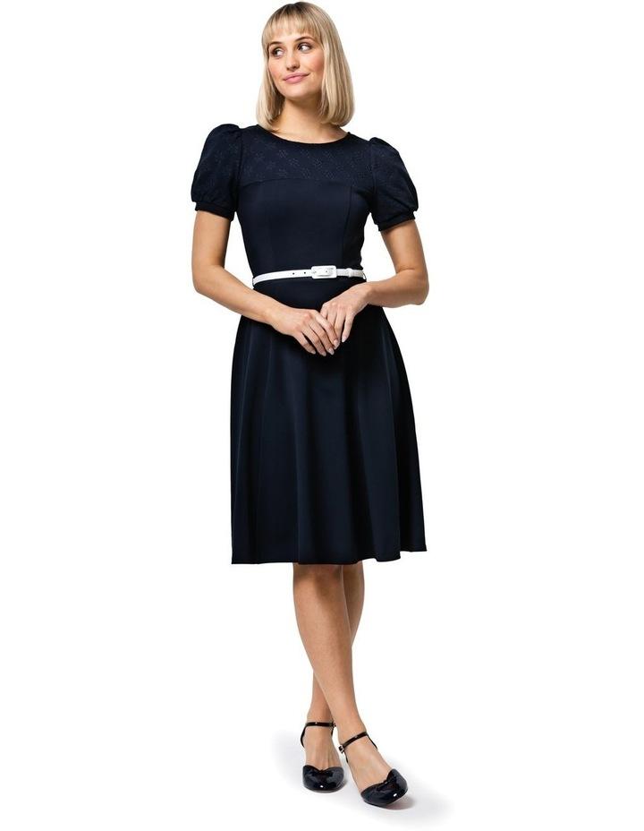 Poppy Broderie Ponte Dress image 1