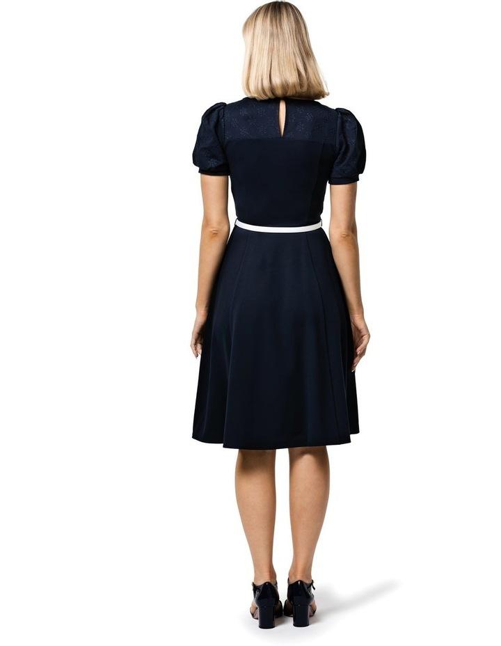 Poppy Broderie Ponte Dress image 2