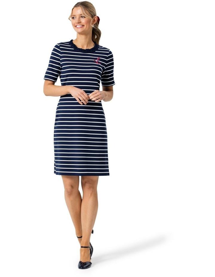 Anchor Me Stripe Ponte Dress image 1