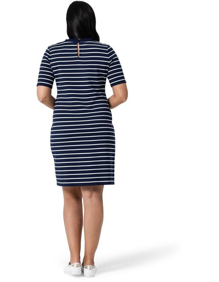 Anchor Me Stripe Ponte Dress image 5