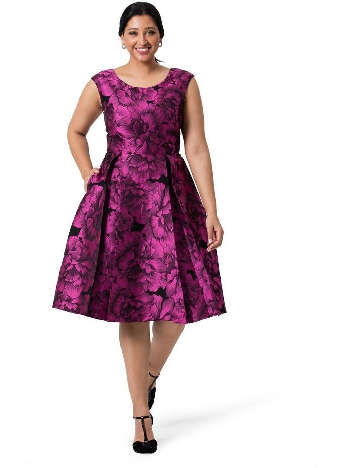 Majestic Bloom Dress image 4