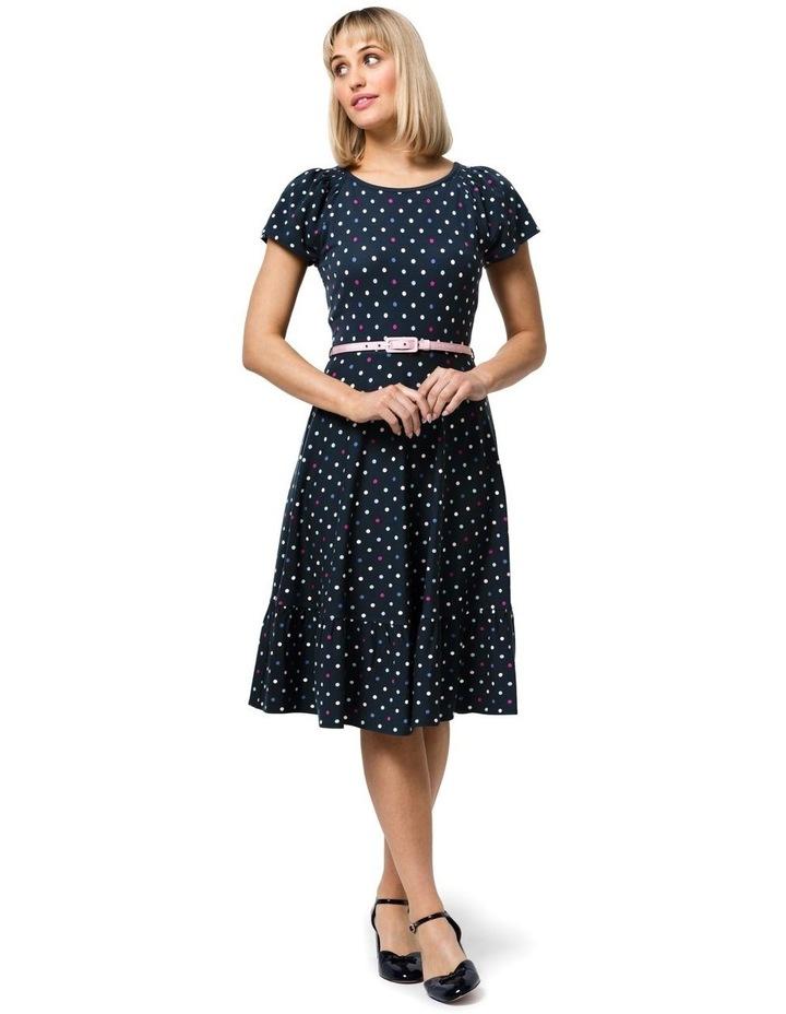 Spot Medley Ponte Dress image 1