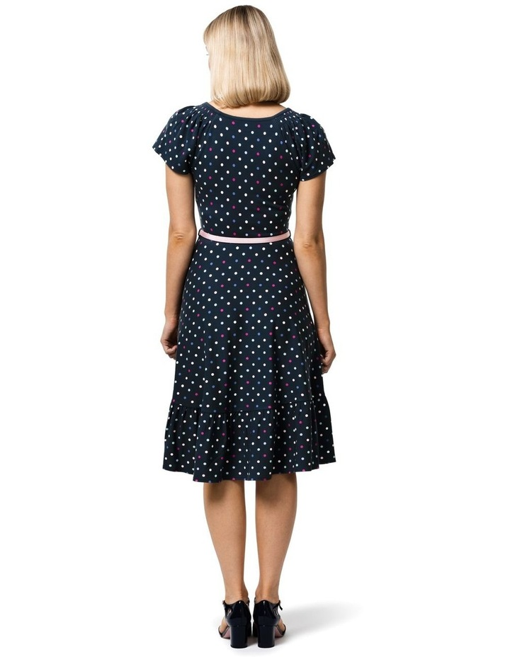 Spot Medley Ponte Dress image 2