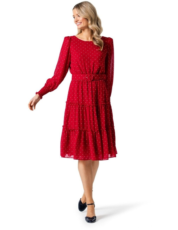Raspberries and Cream Dress image 1