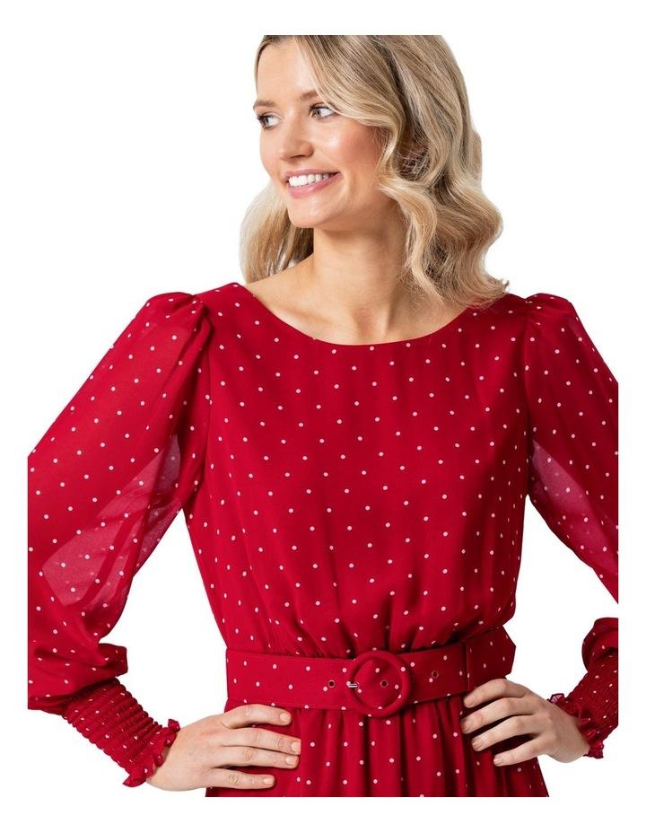 Raspberries and Cream Dress image 3