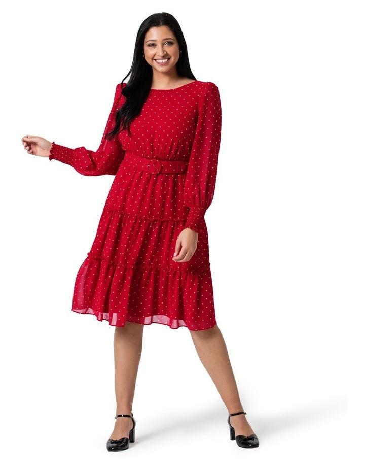 Raspberries and Cream Dress image 4