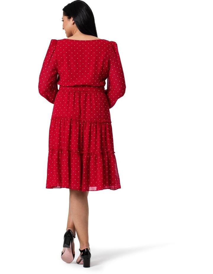 Raspberries and Cream Dress image 5