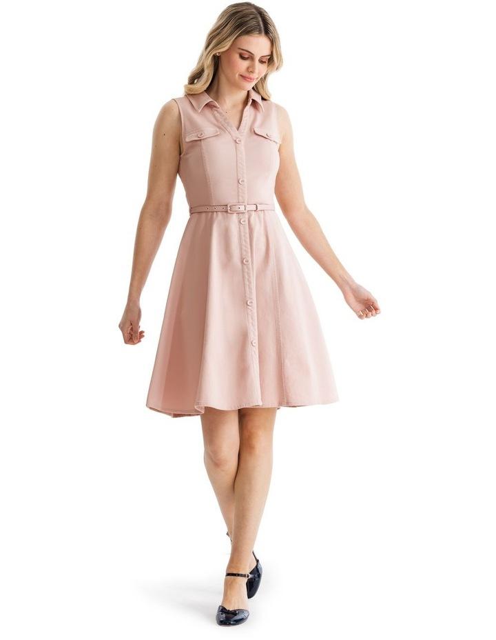 Priscilla Twill Shirt Dress image 1
