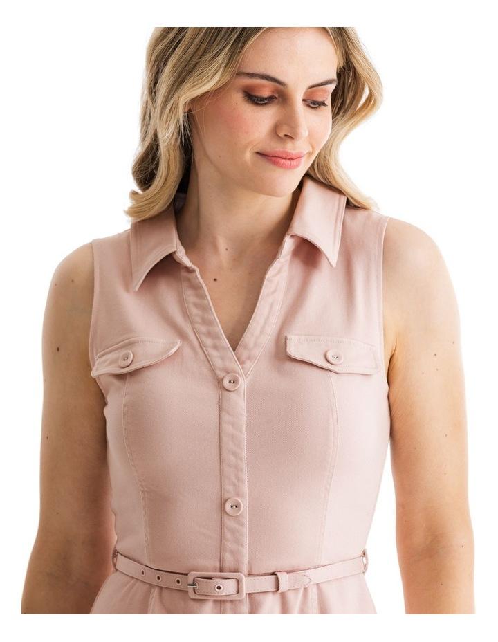 Priscilla Twill Shirt Dress image 3