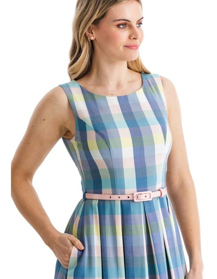 Stepford Check Dress image 3