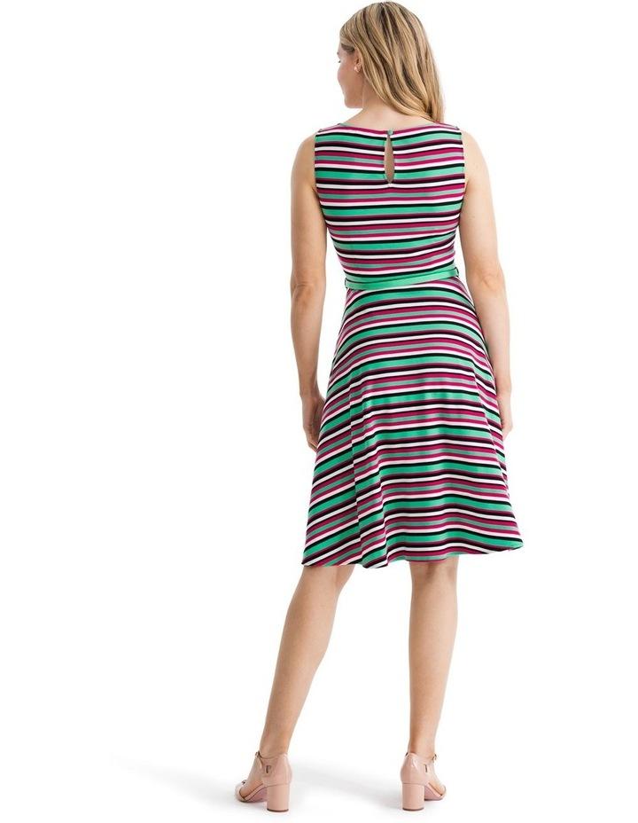 Zosia Stripe Ponte Dress image 2