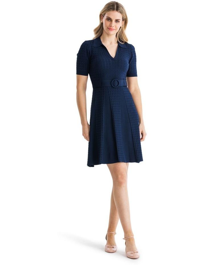 Belle Rose Knitted Dress image 1