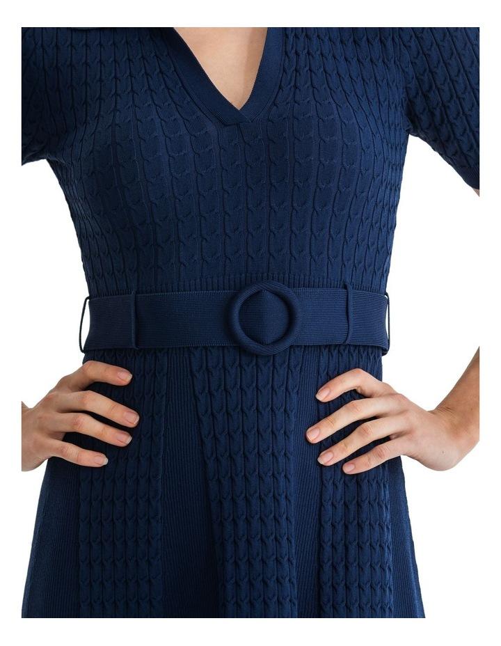 Belle Rose Knitted Dress image 3