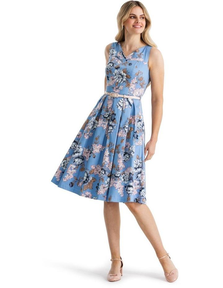 True Blue Floral Dress image 1