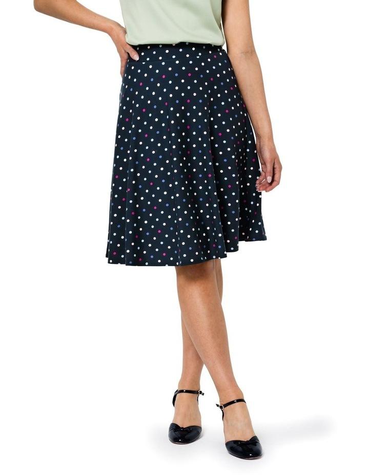 Spot Medley Ponte Skirt image 1