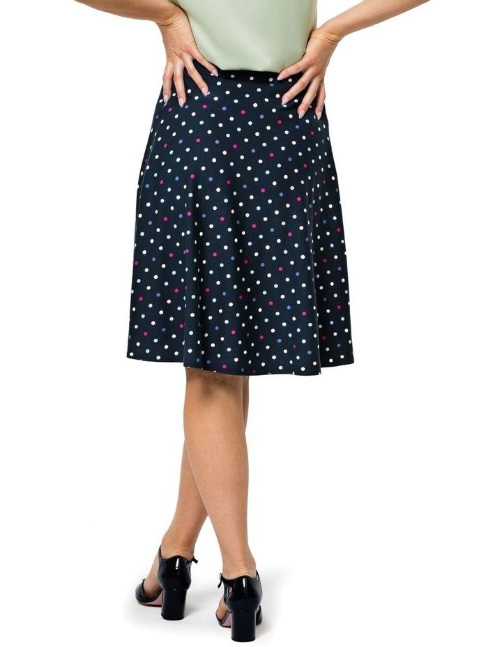 Spot Medley Ponte Skirt image 2