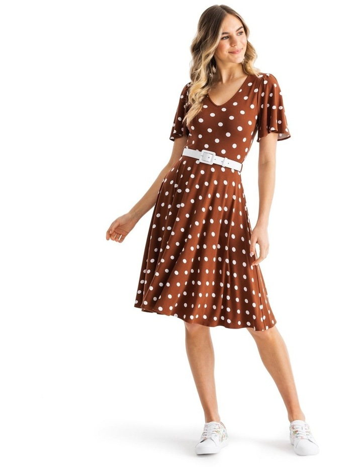 Toffee Spot Jersey Dress image 1