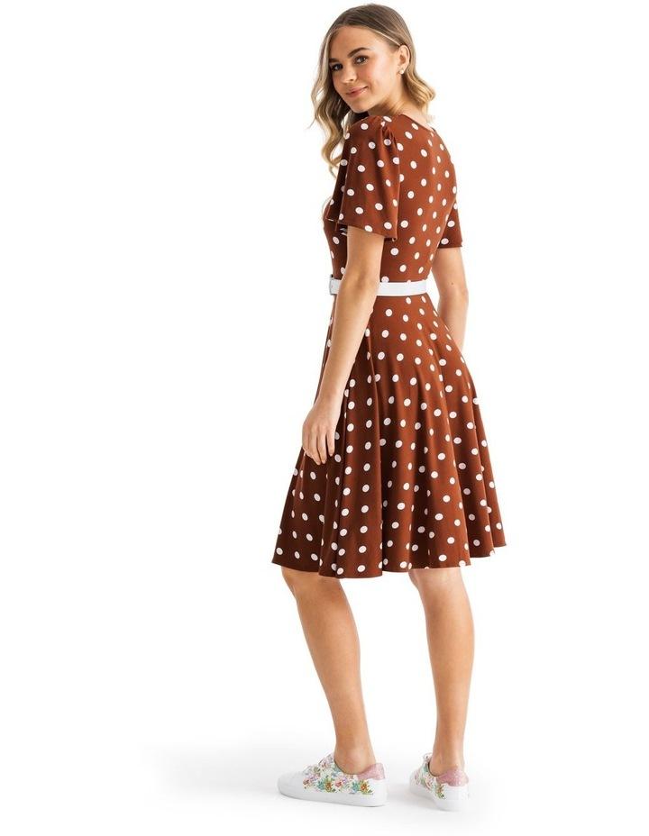 Toffee Spot Jersey Dress image 2