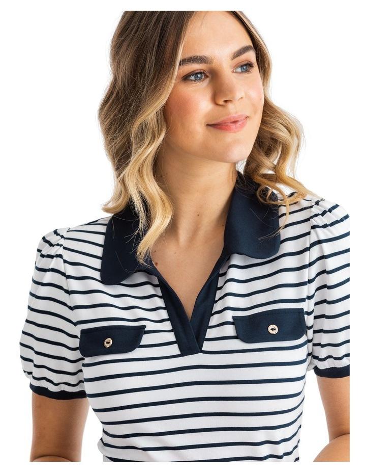 Refresher Stripe Polo image 3