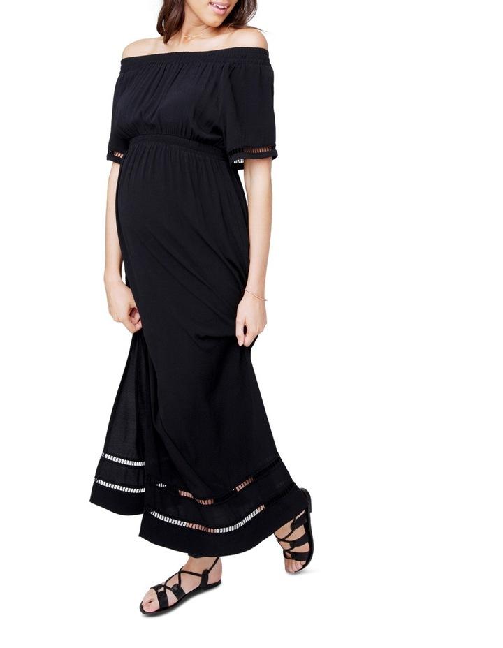 Cold Shoulder Maxi Dress image 1