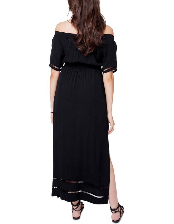 Cold Shoulder Maxi Dress image 3