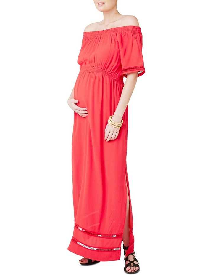 Cold Shoulder Maxi Dress image 1