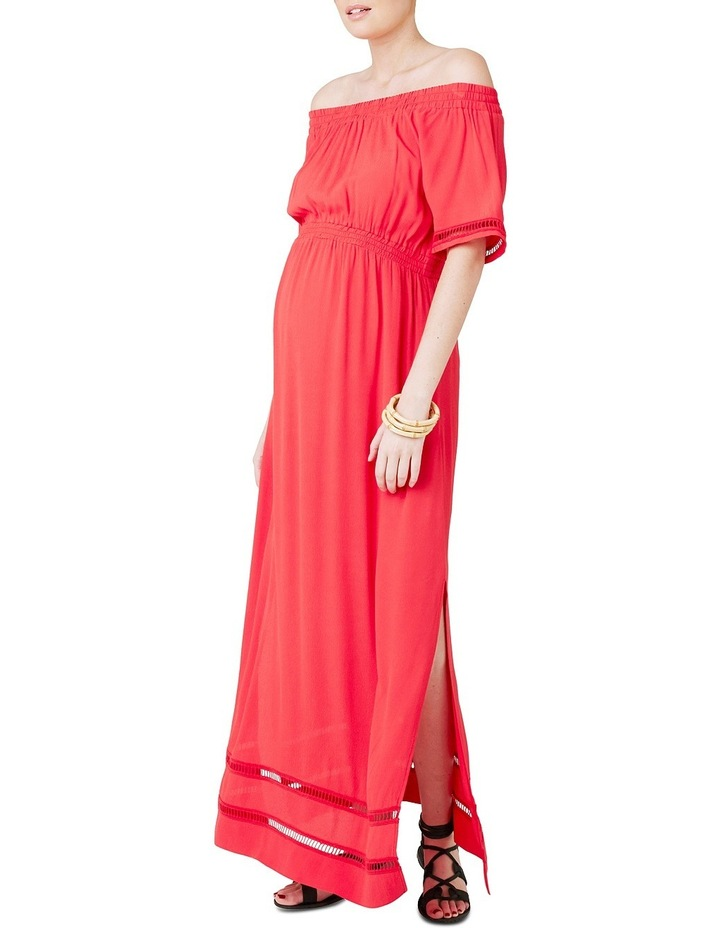 Cold Shoulder Maxi Dress image 2