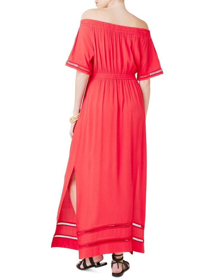 Cold Shoulder Maxi Dress image 3