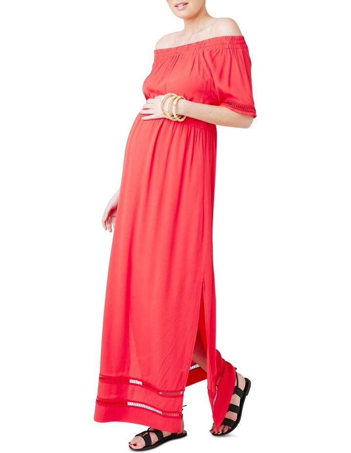 Cold Shoulder Maxi Dress image 4