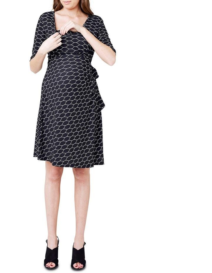 Honeycomb Nursing Dress image 4