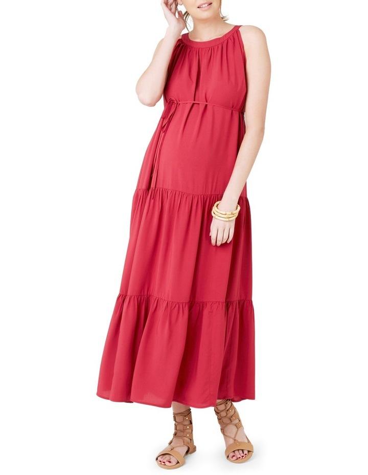 Panelled Peasant Dress image 1