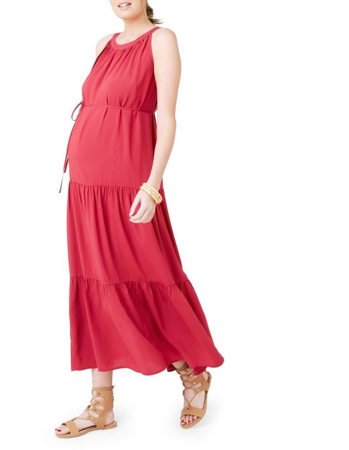 Panelled Peasant Dress image 2
