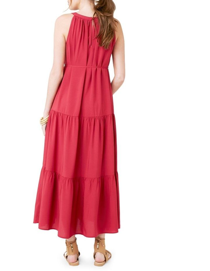 Panelled Peasant Dress image 3