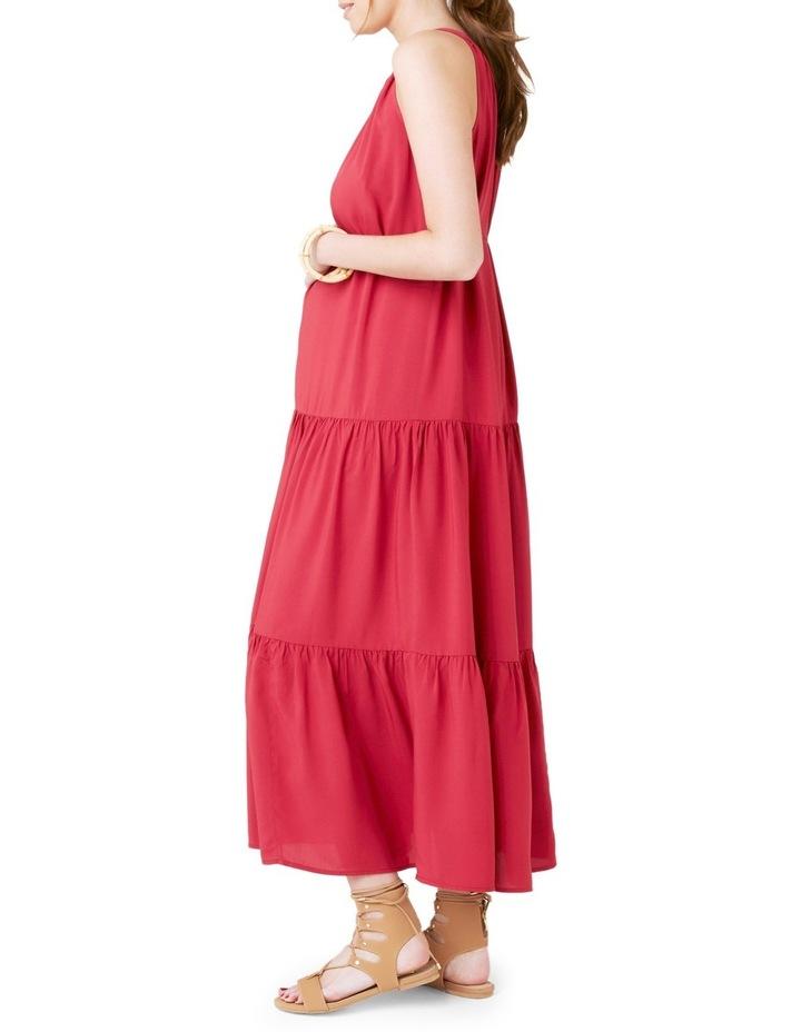 Panelled Peasant Dress image 4