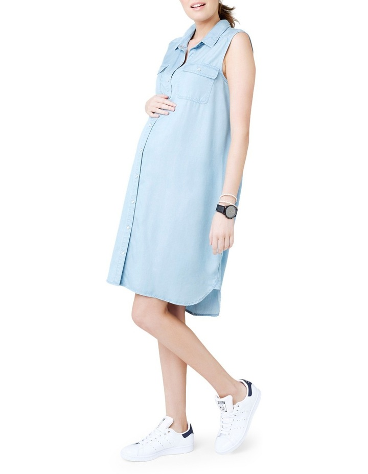 Sleeveless Weekend Shirtdress image 2