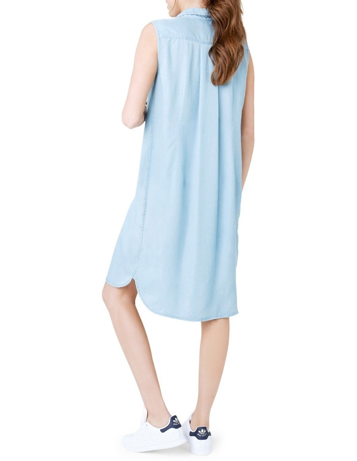 Sleeveless Weekend Shirtdress image 3