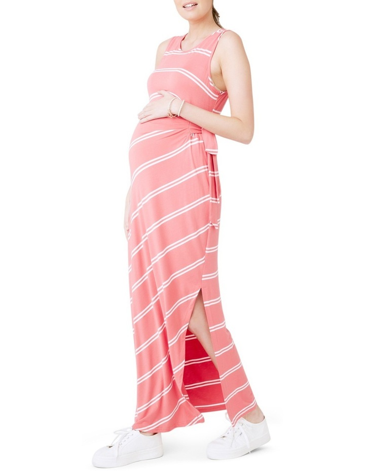 Side Tie Maxi Dress image 2