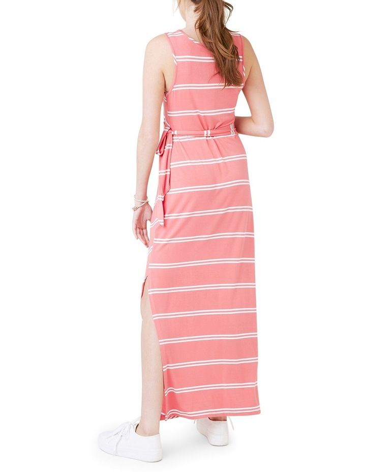 Side Tie Maxi Dress image 3