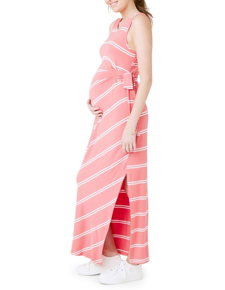 Side Tie Maxi Dress image 4