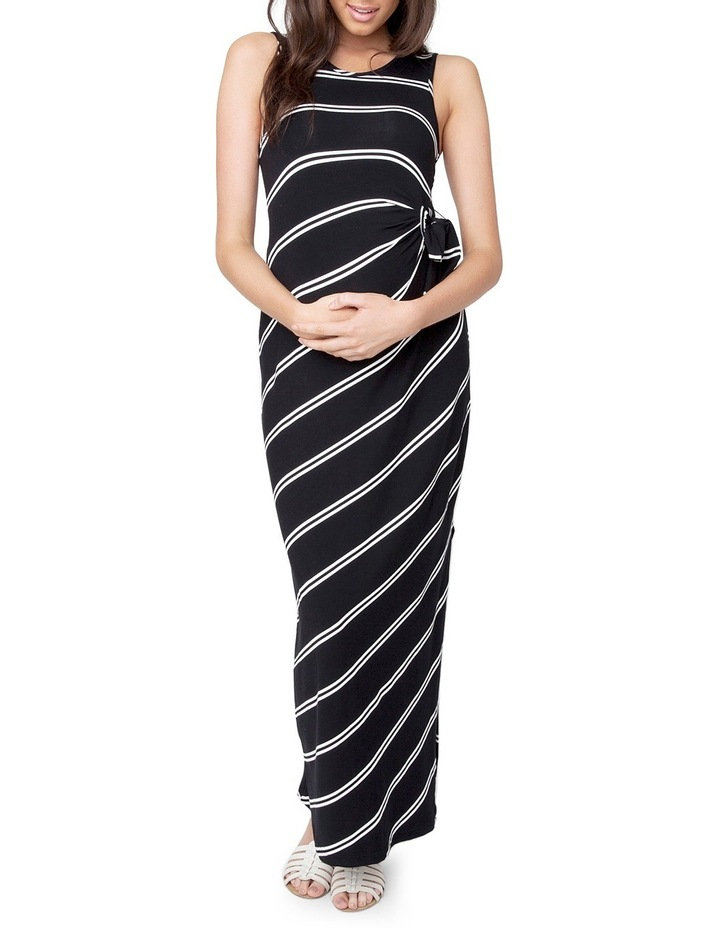 Side Tie Maxi Dress image 1