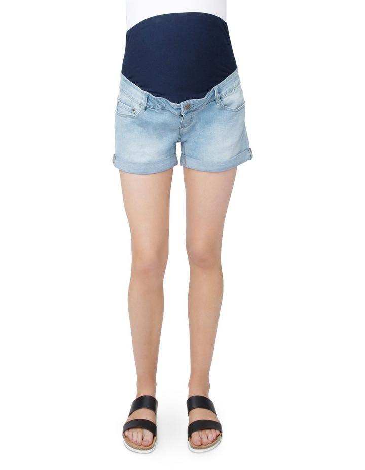 Denim Shorty Shorts image 1