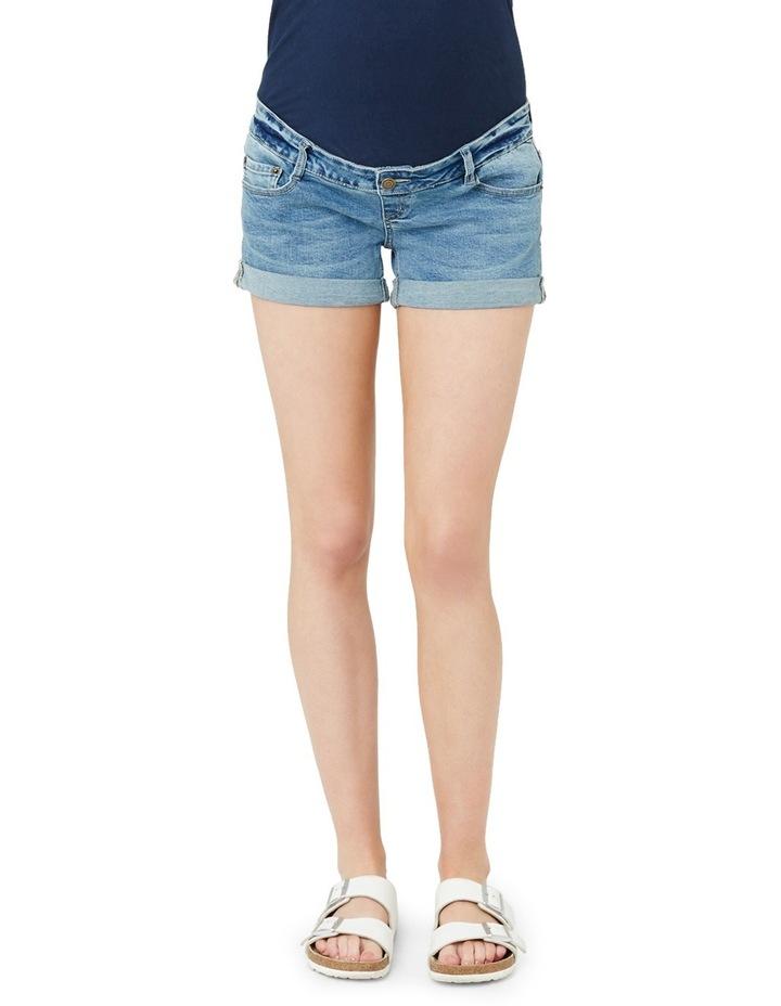Denim Shorty Shorts image 1