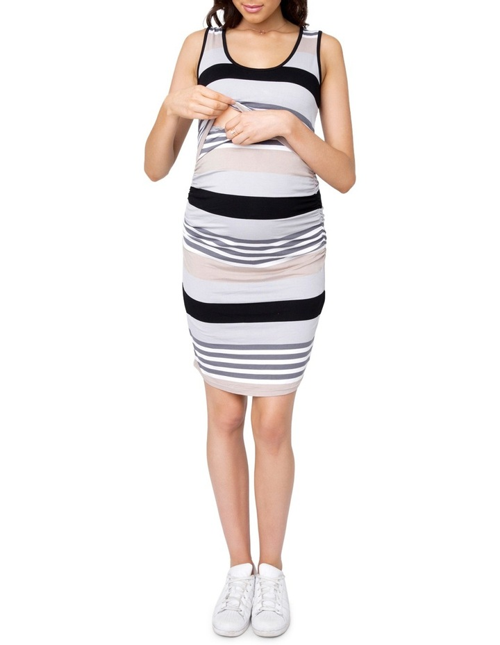 Stripe Nursing Dress image 4