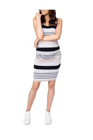 Ripe - Stripe Nursing Dress