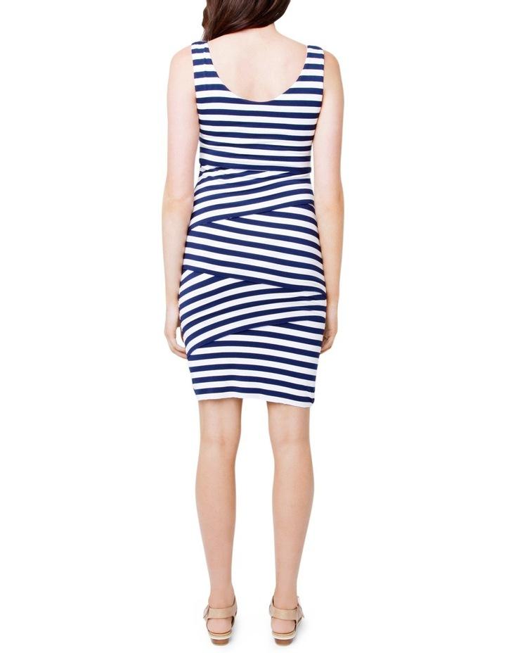 Love Your Body Stripe Nursing Dress image 3