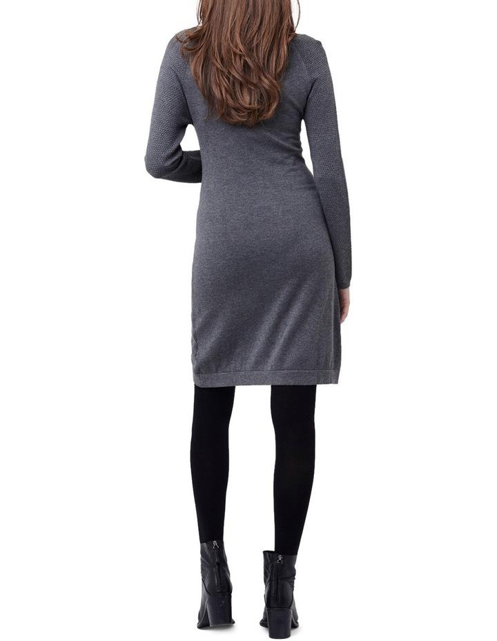 Boucle Sleeve Nursing Tunic Dr image 3