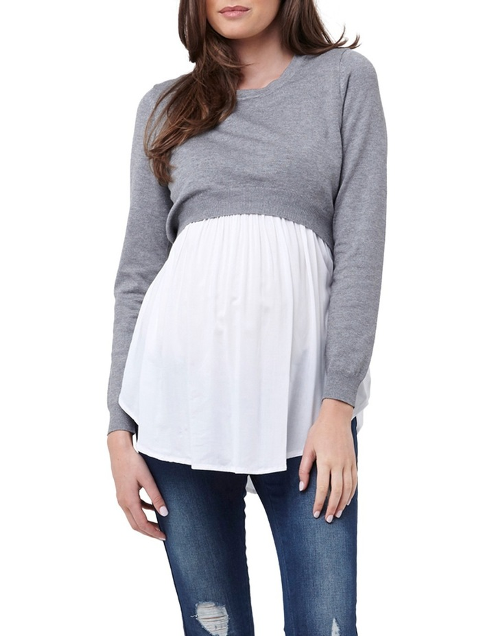 Babydoll Nursing Sweater image 1