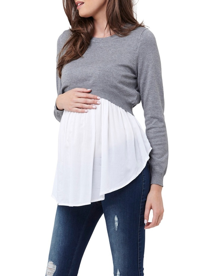 Babydoll Nursing Sweater image 2