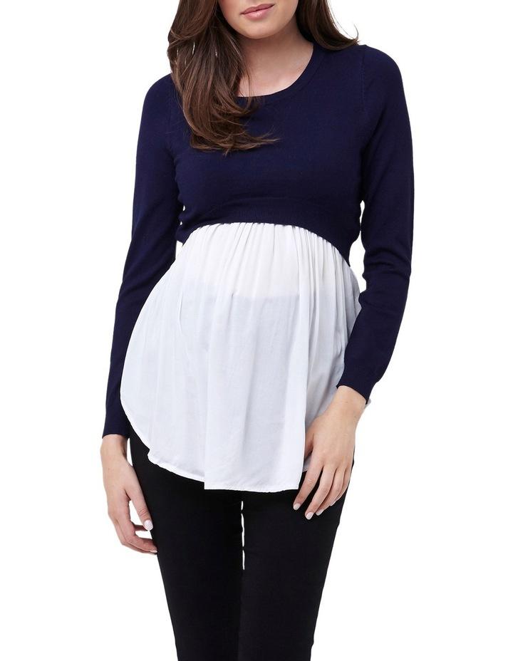 Babydoll Nursing Sweater image 1