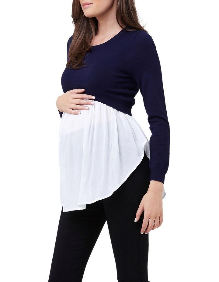 Babydoll Nursing Sweater image 2